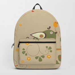Love Bird Tree Backpack