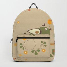 Love Bird Tree Backpack