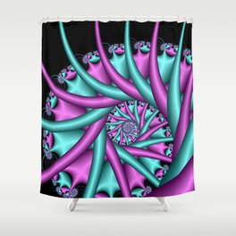 fortified -1- Shower Curtain