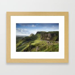 The Road to the Quiraing II Framed Art Print