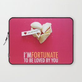 I'm Fortunate to be Loved by You Laptop Sleeve