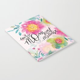 Every Moment Matters Notebook