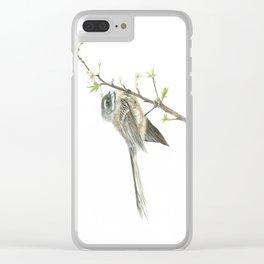 Piwakawaka - Fantail Bird Clear iPhone Case