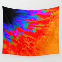 passion Wall Tapestries featuring Passion by Liviotti