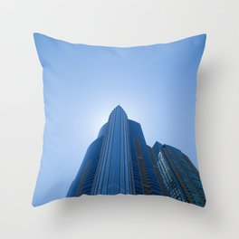 High Rise above Chicago Throw Pillow