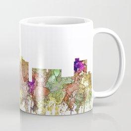 Lubbock, Texas Skyline - Faded Glory Coffee Mug