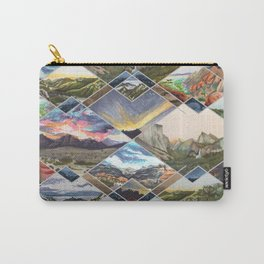 Diamond Mountains Carry-All Pouch