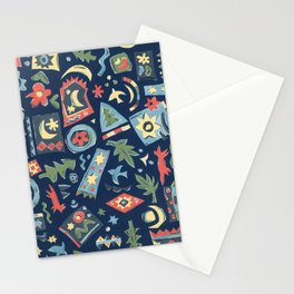 Night Night by Nettwork2Design Nettie Heron-Middleton Stationery Cards