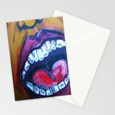 Laughing Mouths. Stationery Cards