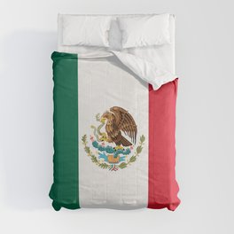 Mexican flag of Mexico Comforters