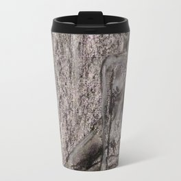 Sitting Nude Travel Mug