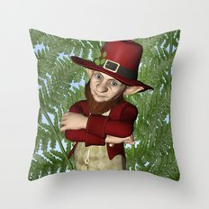 Leprechaun Throw Pillow