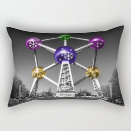 Xmas Atomium  Rectangular Pillow