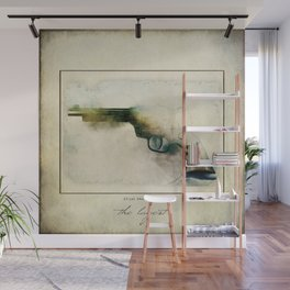 The LaGest 22 cal Double Nine Gun Wall Mural