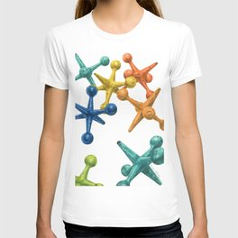 Jack's Jacks- An Abstract T-shirt