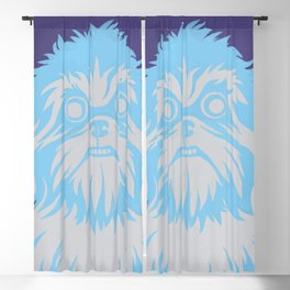 Shih Tzu Stare Blackout Curtain