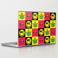 miley Laptop & iPad Skins featuring Miley Icons by BreakoutStore