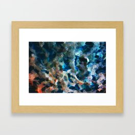 FRACTAL FOAM Framed Art Print