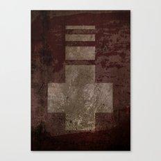 Downward Cross  Canvas Print