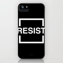Resist 2 iPhone Case