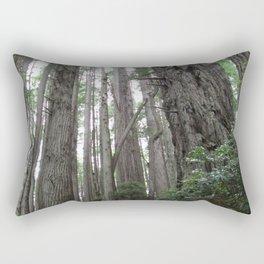 Redwoods, Forest, Trees Rectangular Pillow