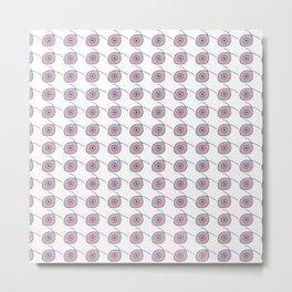 Dots and Dots - JUSTART © Metal Print