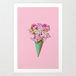 Flower Flurry I Art Print