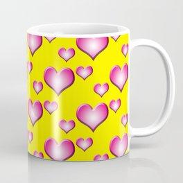 herzen collage Coffee Mug