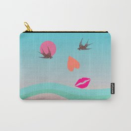 BE IN LOVE - Surreal illustration Carry-All Pouch