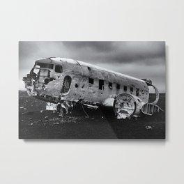 Brazilian Brazil DC-3 US Navy Airplane Metal Print