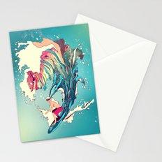 Blind Surfer Stationery Cards