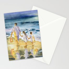 Summer Vacation Memory Stationery Cards