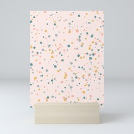 Confetti Mini Art Print