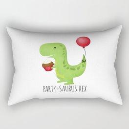 Party-Saurus Rex Rectangular Pillow