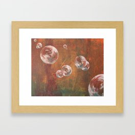Scratching the Surface Framed Art Print
