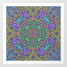 For You Mandala Art Print