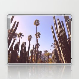 Palm trees, cactus and summer Laptop & iPad Skin