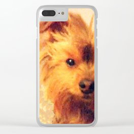 Wise Yorkie Yoda | Dogs | Yorkies Clear iPhone Case