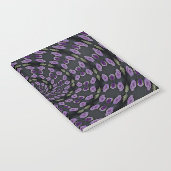 Purple Swirl Notebook
