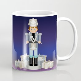 Little Drummer Boy on Christmas Eve Coffee Mug
