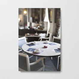 The Hotel Cafe in France Metal Print
