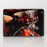 drums iPad Cases featuring Drums  by Alice Mari
