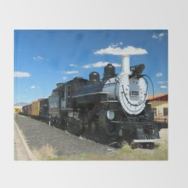 Cumbres And Toltec Steam Engine Throw Blanket
