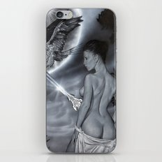 Fantasy girl iPhone & iPod Skin
