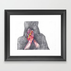 Hands #1 Framed Art Print