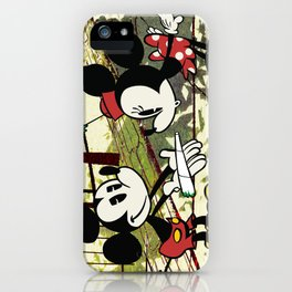Mickey's Surprise for Minnie iPhone Case