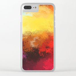 Expressions 4 Clear iPhone Case