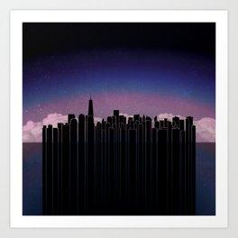 New York Dreaming Art Print