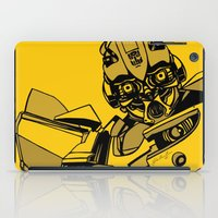 transformers iPad Cases featuring Transformers: Bumblebee by Skullmuffins