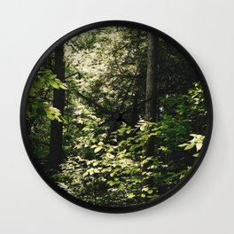Cramped Forest Wall Clock